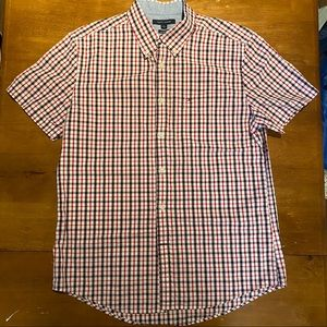 Tommy Hilfiger Short Sleeve Button-Down, Size L